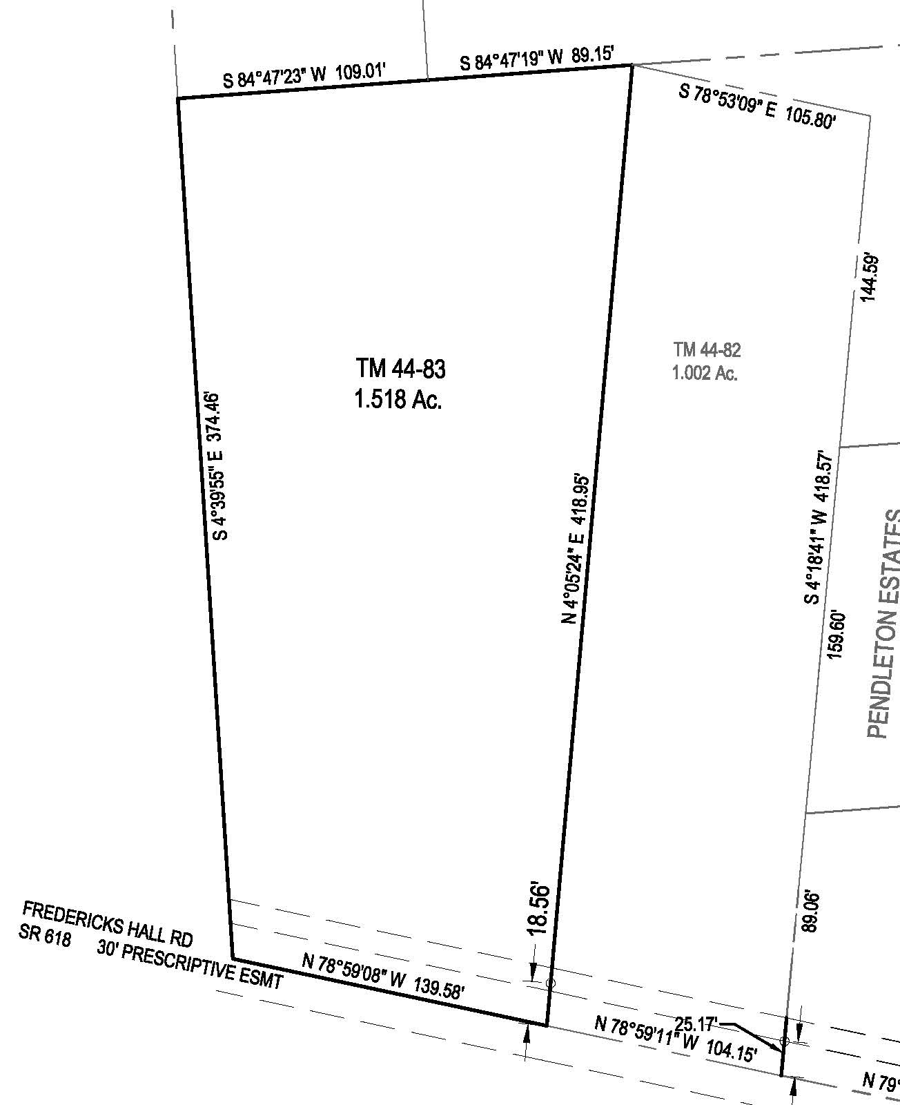 One Acre Building Lot in Mineral, VA