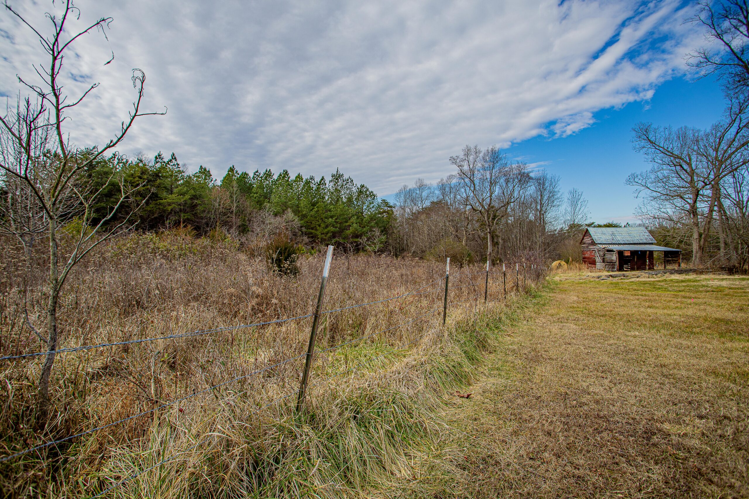 Wooded Lot with a Barn in Pittsylvania County