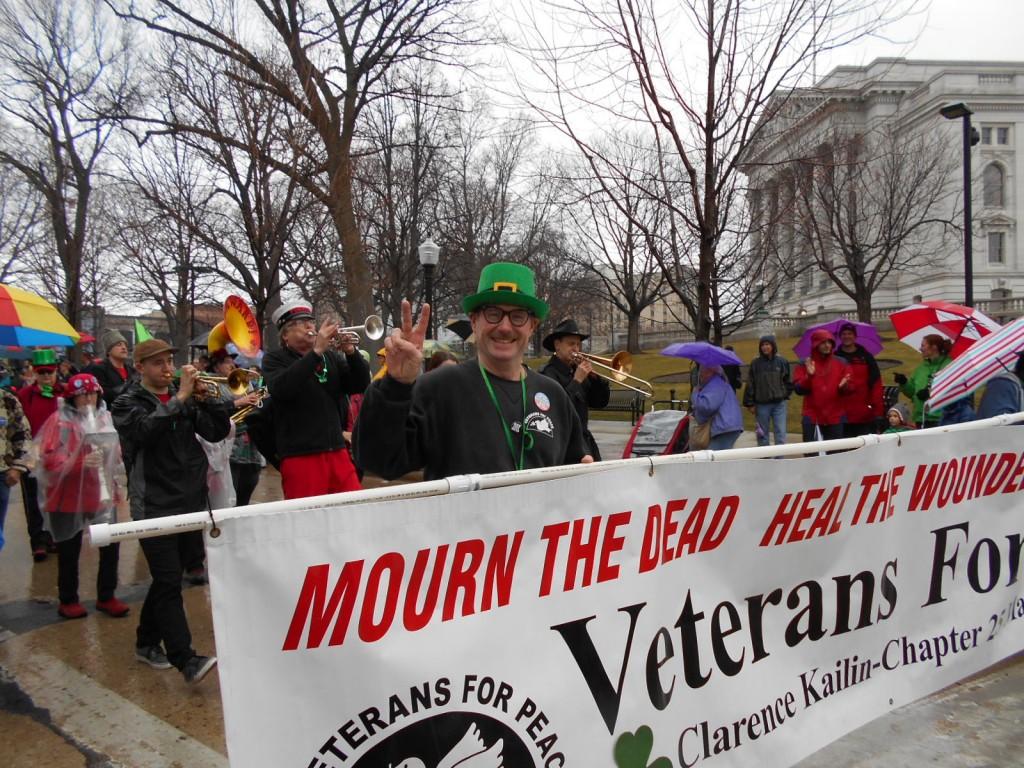 St Patrick Parade Madison Steve Books VFP Banner