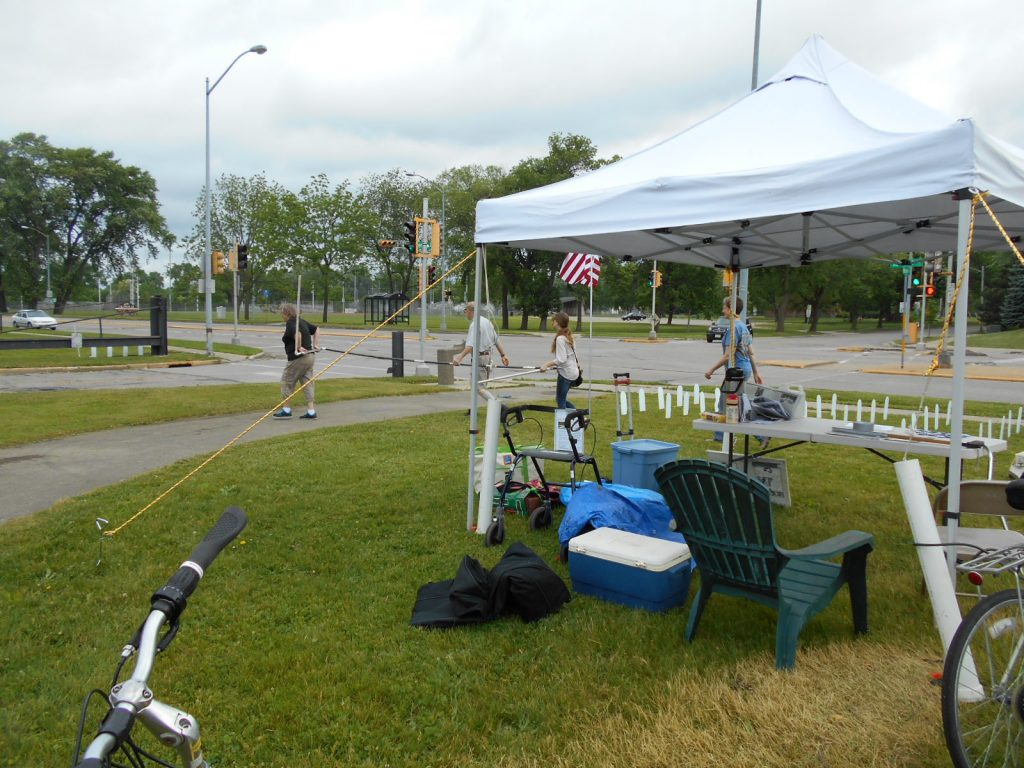 VFP Madison May 28 2016 installing Memorial Mile 006