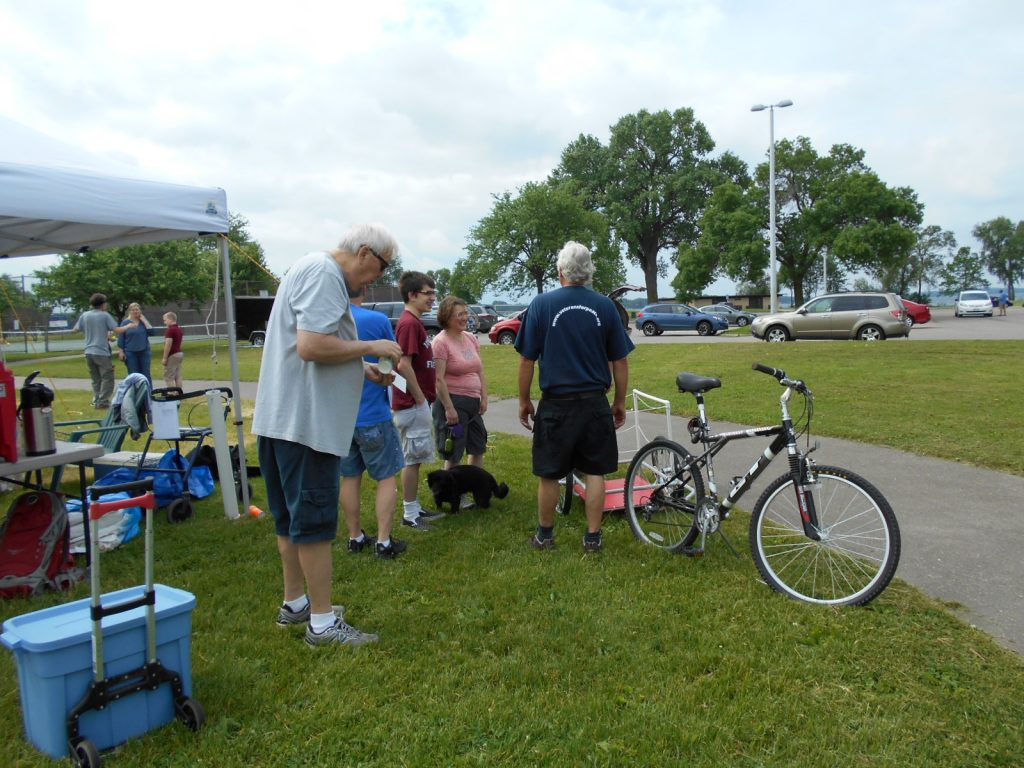 VFP Madison May 28 2016 installing Memorial Mile 013