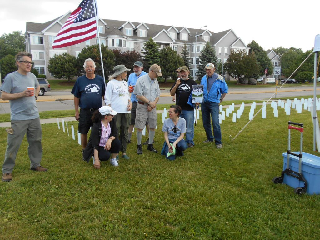 VFP Madison May 28 2016 installing Memorial Mile 015