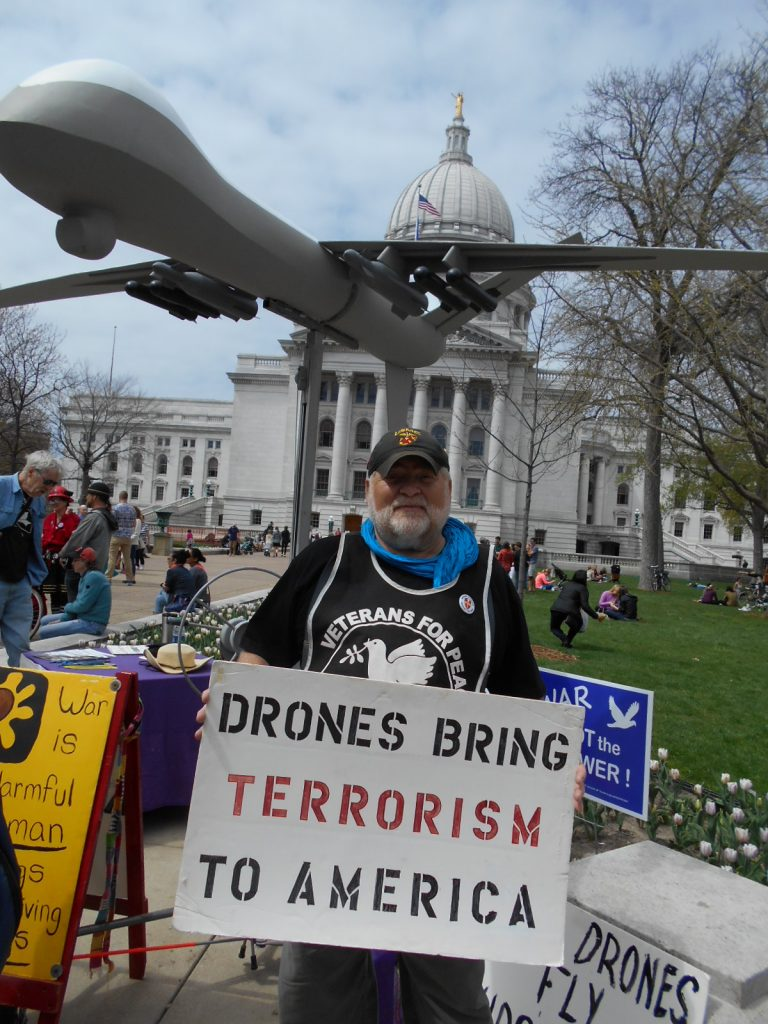 VFP Table and Drone at Farmers Mkt April 23 2016 003
