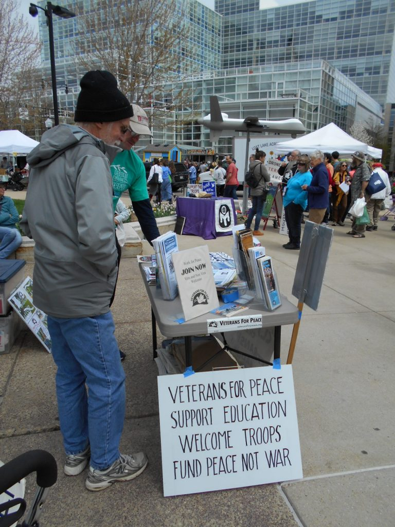 VFP Table and Drone at Farmers Mkt April 23 2016 009