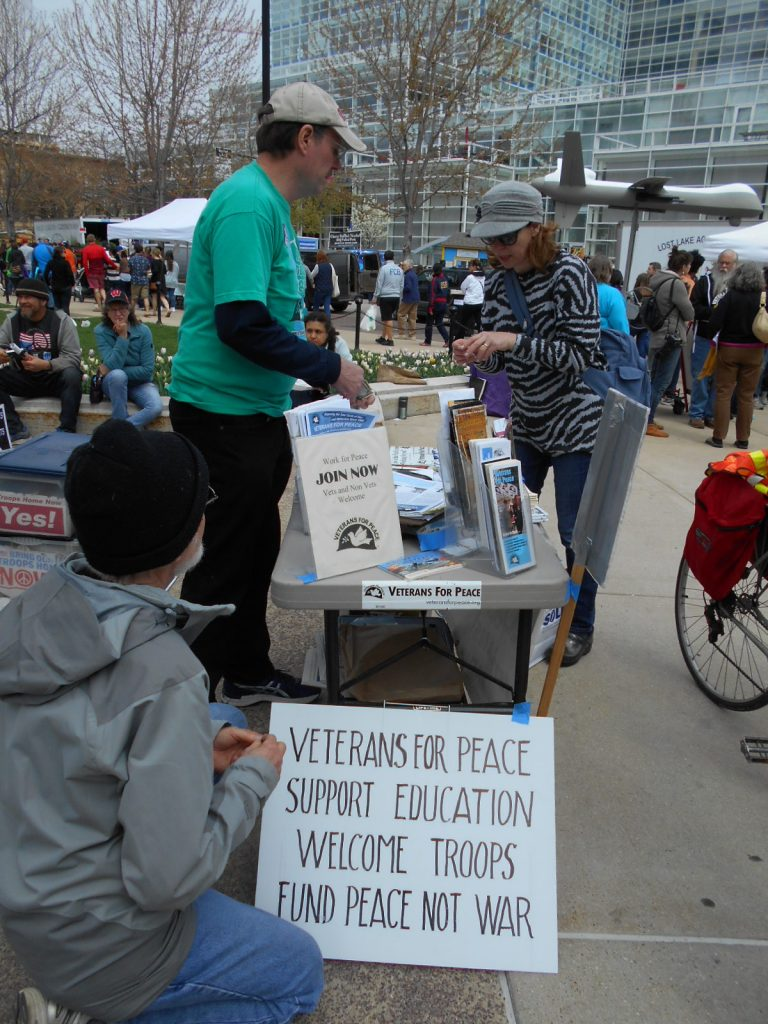 VFP Table and Drone at Farmers Mkt April 23 2016 010
