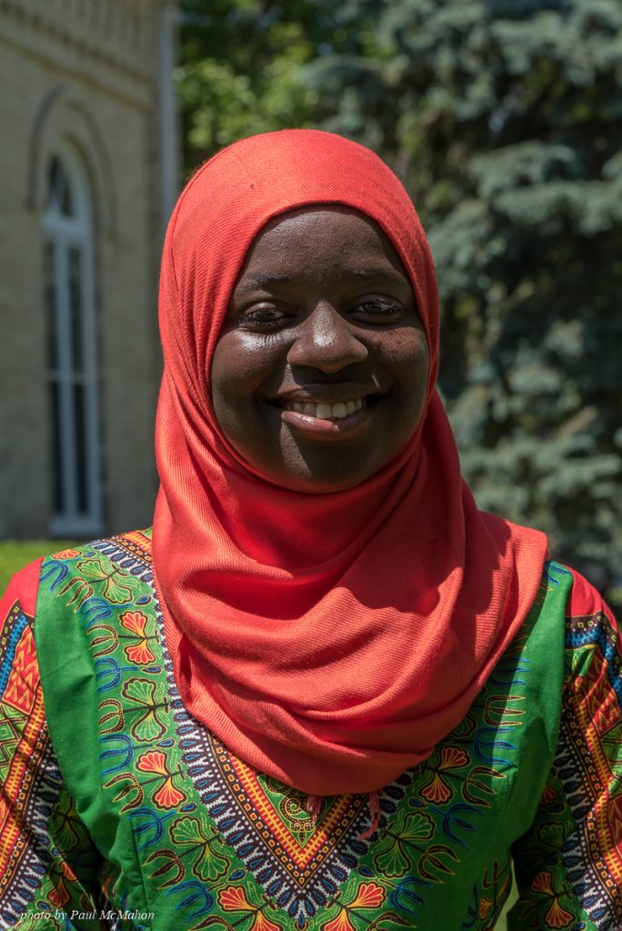 Jainaba Joof, 2016 Madison Metropolitan School District Essay Winner. Read more about her here.