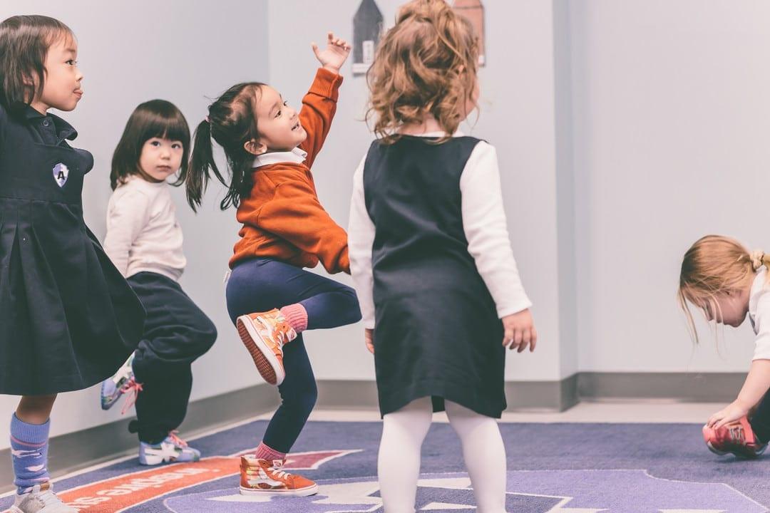 daycare toddler dancing