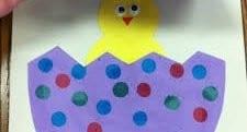 preschool art activity with paper