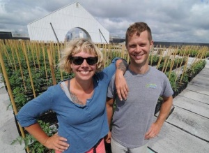 HIGHER GROUND FARM'S COURTNEY HENNESSEY AND JOHN STODDARD
