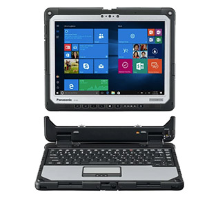 TOUGHBOOK 33 is a fully rugged 2-in-1 PC with a 3:2 screen