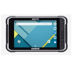 Handheld Algiz RT8 Android tablet is a fully rugged and ergonomic option for the field workforce