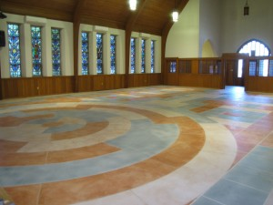 Custom Concrete Floor