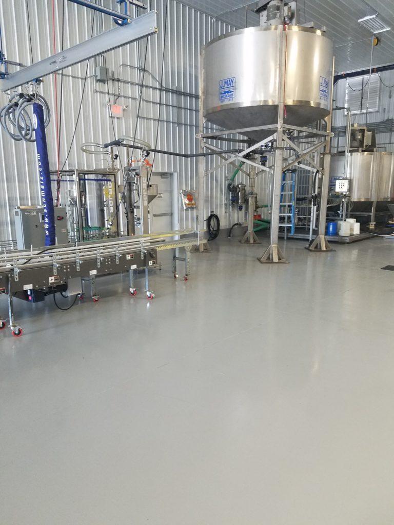 Novolac Epoxy Floor