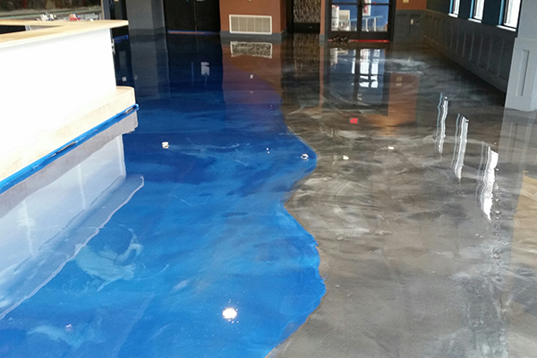 Reflector Epoxy Floor New Hope