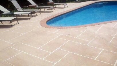concrete Resurface Pool Deck