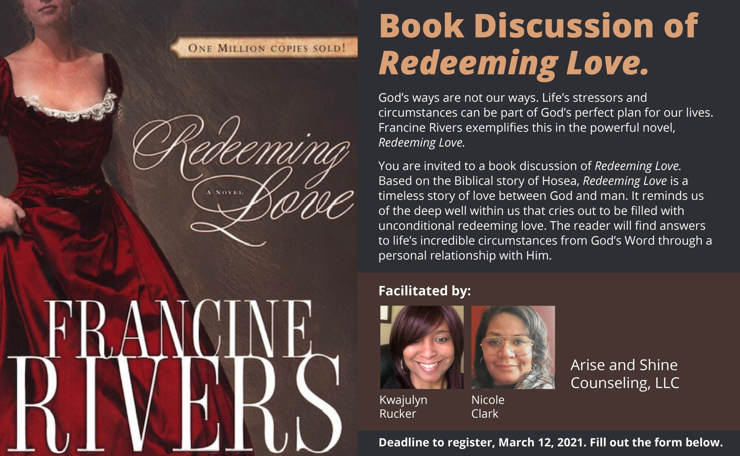 Zoom Book Discussion on Redeeming Love