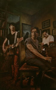 5. Jody Travis Thompson Healthy Family Unit Oil on Canvas 40 in x 60 in 2012