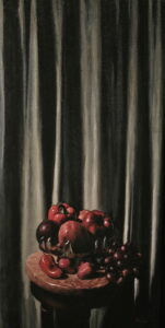 Persephone - Oil on Canvas, 15 in x 30 in