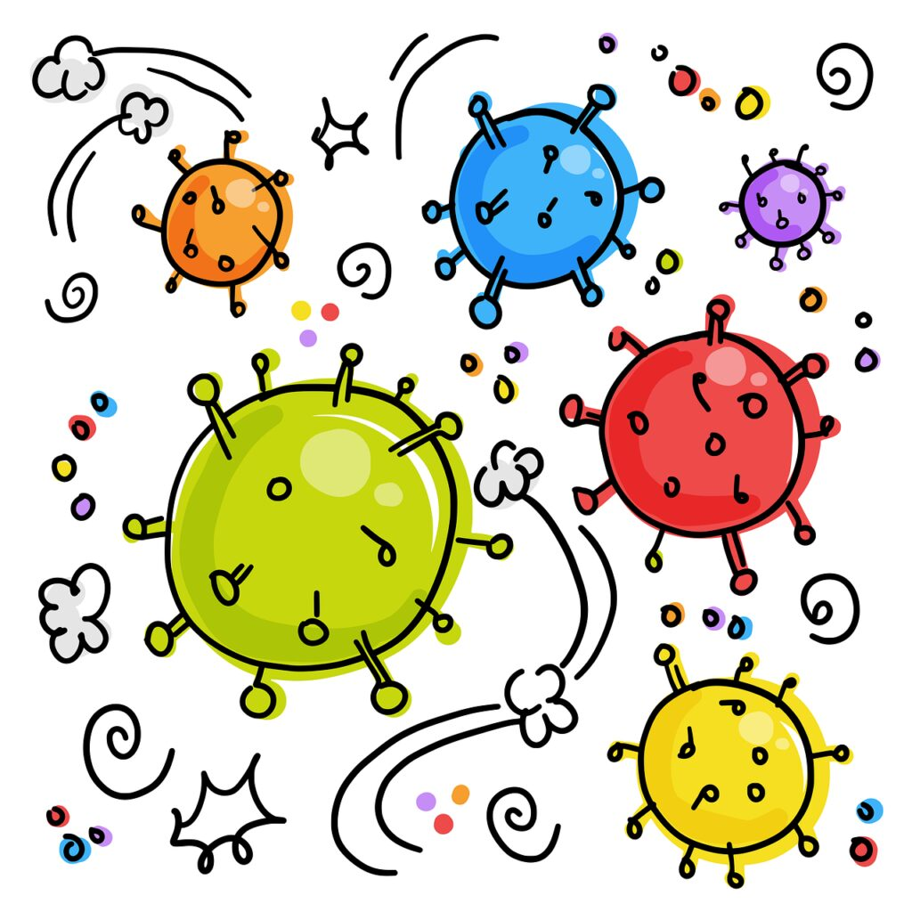 coronavirus, viruses, germs