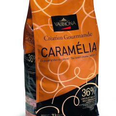 Valrhona  Caramelia 36% Milk Chocolate Feves  13-VC7098