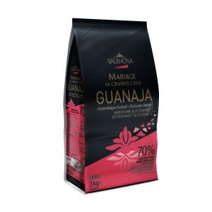 Valrhona Guanaja 70% Dark Chocolate Couverture Feves  13-VC4653