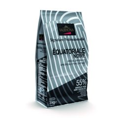 Valrhona Equatoriale 55% Dark Chocolate Feves  13-VC4661