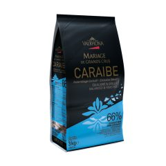 Valrhona Caraibe Dark Chocolate Feves  13-VC4654