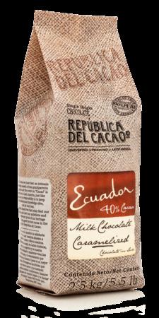 Republica del Cacao Milk 40% Ecuador #200001 5.5 lbs
