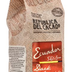 Republica del Cacao Ecuador 56% Dark  wafers 2.5kg/5.5 lbs