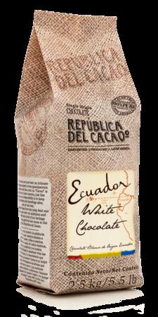Republica del Cacao White Couverture #13-VC18843 5.5 lbs
