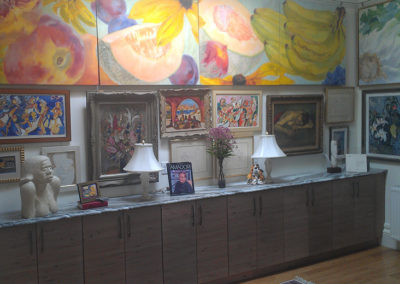 Eclectic cabinets