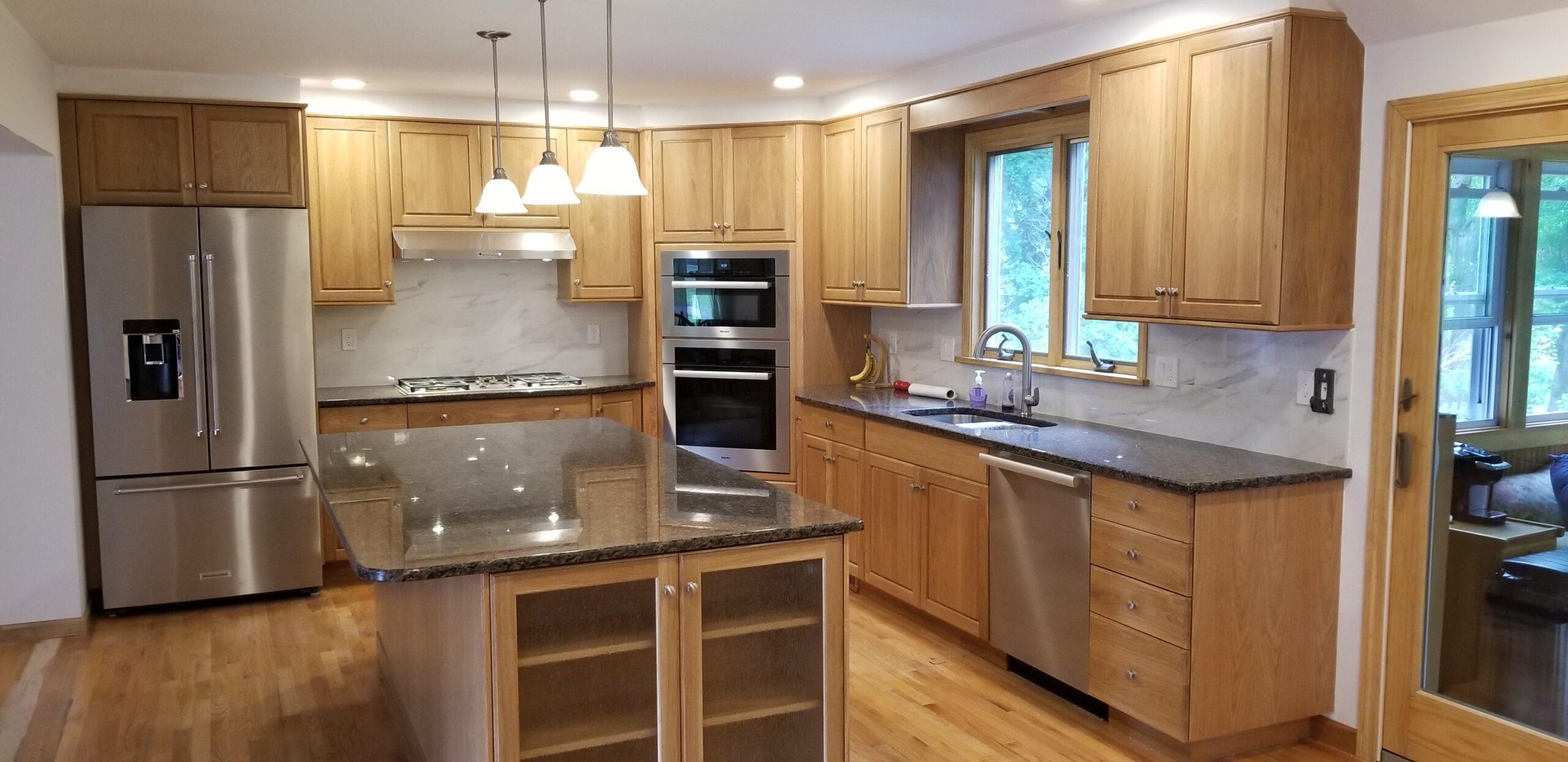 East Longmeadow Madrid style kitchen remodel
