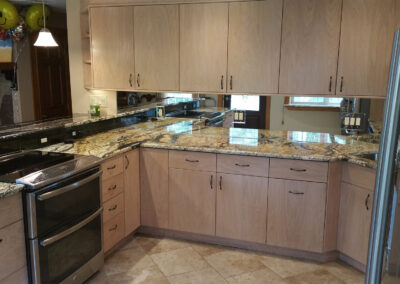 smooth cabinets kitchen remodel