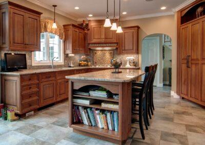 Italian Villa style kitchen remodel