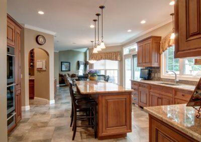 Italian Villa kitchen