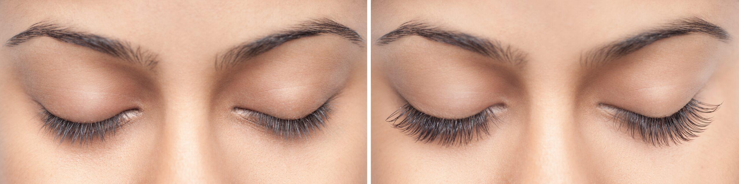 dramatic eyelash extensions