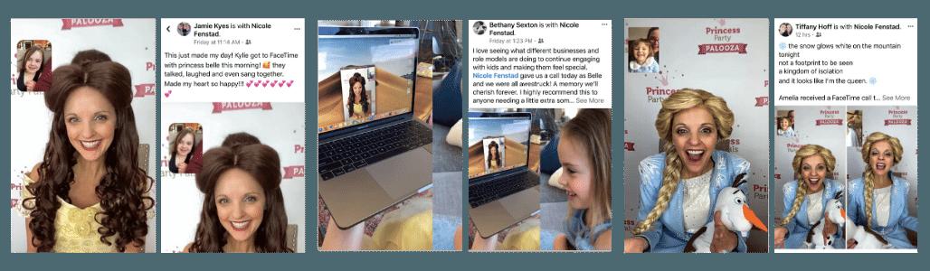 Princess FaceTime Reviews | Princess Party Pals