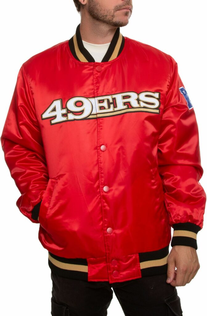 49ers Starter Jacket from Sheikh