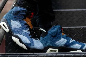 Cover Photo of Air Jordan 6 Retro 'Denim Wash'