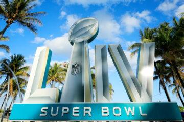 2020 Super Bowl Miami logo