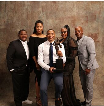 Russell Westbrook Family Photo