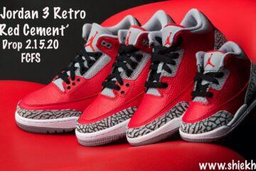 Air Jordan 3 Retro 'Red Cement'