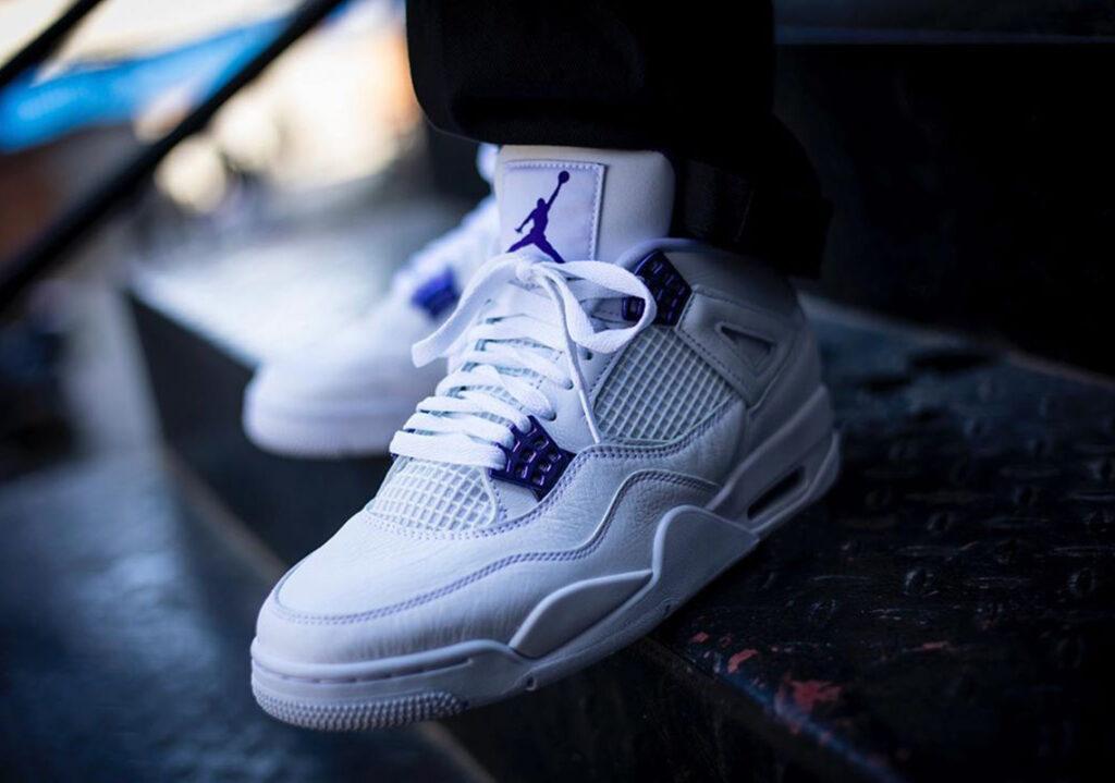 Air Jordan 4 Retro 'Court Purple'