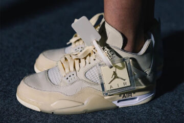 Off White Air Jordan 4 Retro 'Sail'
