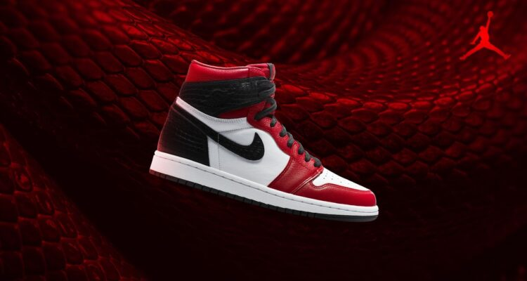 Air Jordan 1 Retro 'Satin Snake'