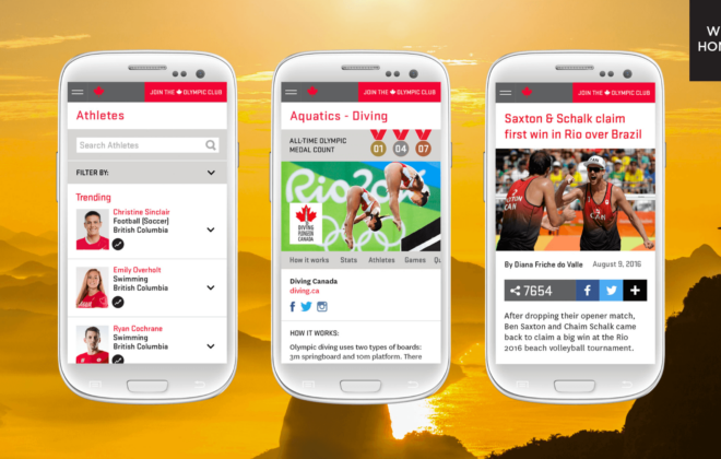 canadian olympic team website