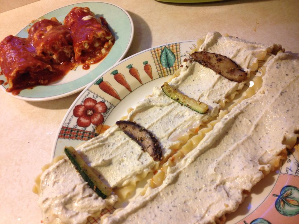 easy vegan lasagna rolls with tofu ricotta cheese recipe