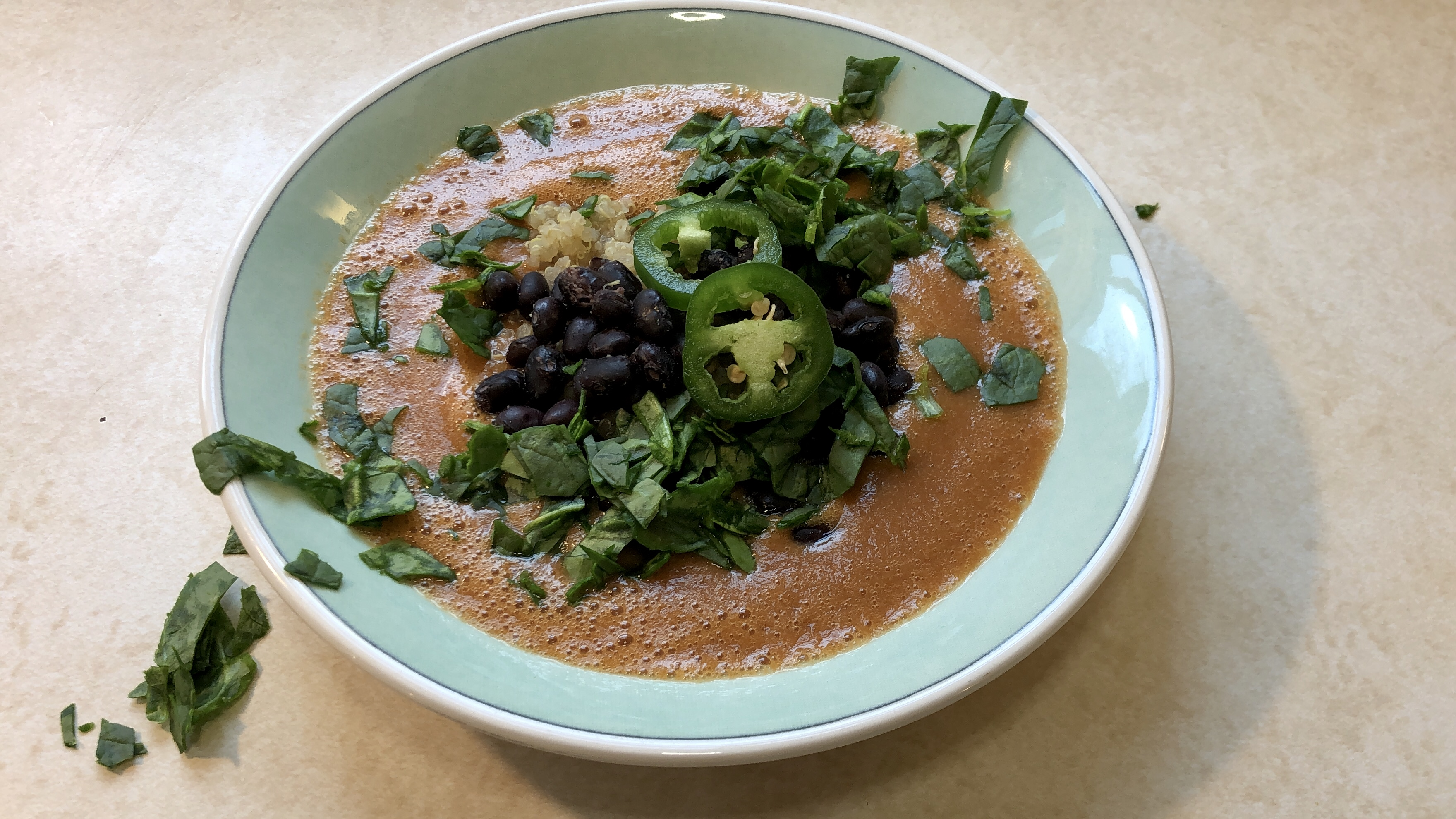 Easy Vegan Tortilla Soup