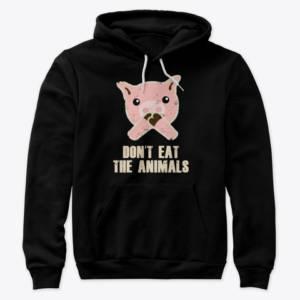 vegan animal sweatshirt