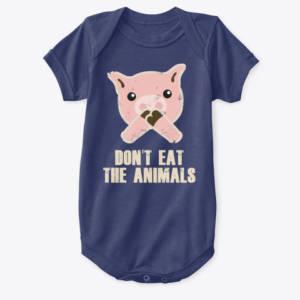 kids vegan shirt